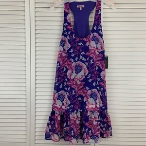 NWT Authentic Juicy Couture Floral Catalina Dress